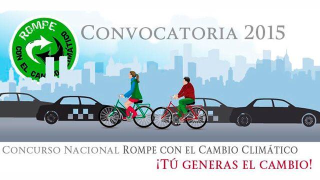 Concurso Nacional organizado por la SEMARNAT para invertir en un grupo de jovenes que tenga un proyecto en contra del cambio climático.  Registro: http://rompeconelcambioclimatico.gob.mx/  #cambioclimatico #planeta #ecologia #noticias #México #concurso #convocatoria #SEMARNAT #ong #organizaciones #jovenes #juventud #UNAM #IPN #IBERO #TEC #LaSalle #proyecto #ambientalismo #proambiental #medioambiente