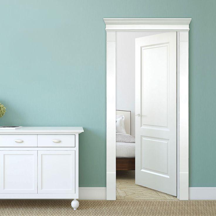 Single Door Surround Kit with Crosshead \u0026 Fluted Pilasters & 28 best Open Entrance Door Trim images on Pinterest | Door moulding ...