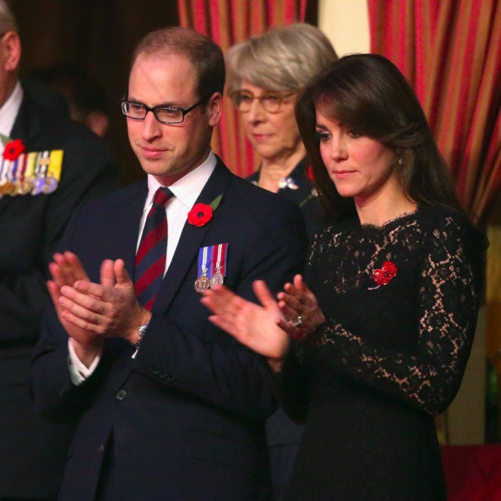 Prince William and Kate Middleton Honor Fallen Soldiers at the Festival of Remembrance