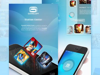 GAMELOFT™ Station Center