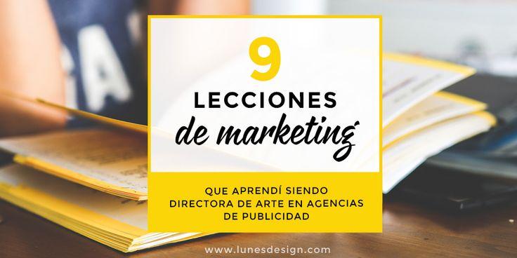 Claves de marketing y creatividad publicitaria que aprendí siendo directora de arte en agencias.