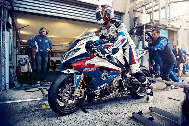 KELLY KELLERHOFF : Andreas HEMPEL for BMW 24 Heures du Mans Moto