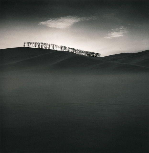 Michael Kenna    Hilltop Trees, Study 2, Teshikaga, Hokkaido, Japan, 2004