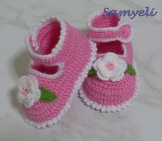 baby shoes tutorial - Google Search