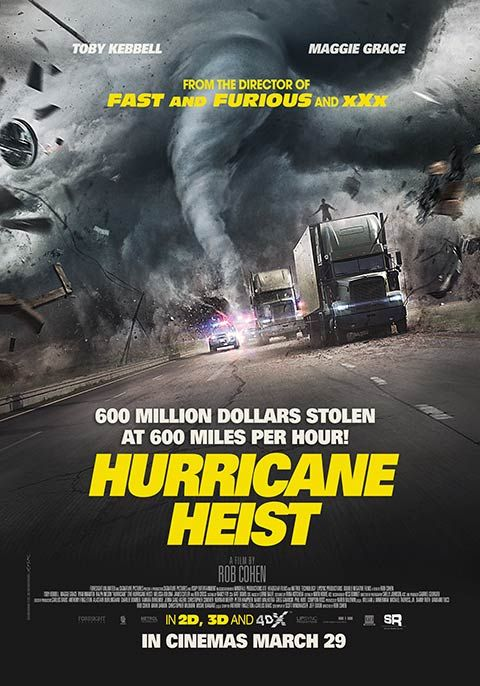 The Hurricane Heist (2018) Hindi Dual Audio HC HDRip 720p Hevc [450MB]