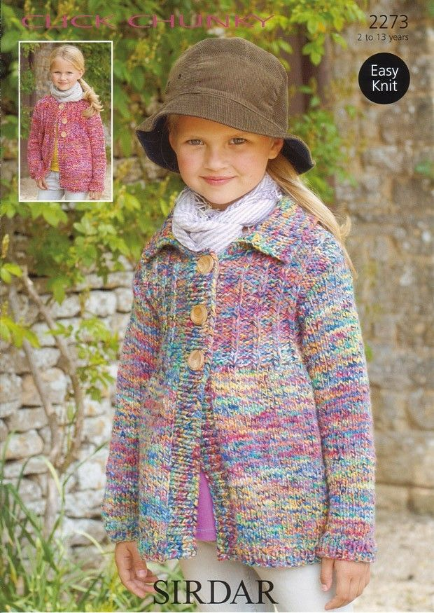 Cardigans in Sirdar Click Chunky - 2273