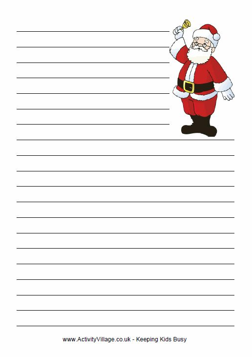 letter to santa essay Write a letter to santa and bring back the lost art of letter writing with the prevalence of e-mail and social networking websites in the modern world, letter writing has become a lost art, especially among children.