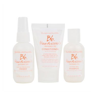 Give the gift of beautiful hair this Holiday season with the Hairdresser's set of mini but miraculous products.