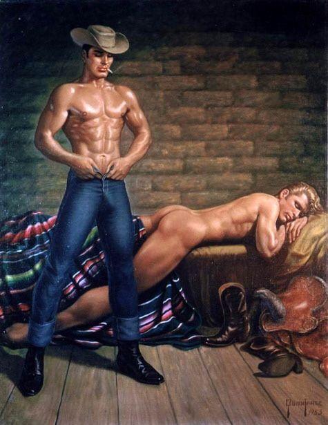 from Magnus art cowboy gay