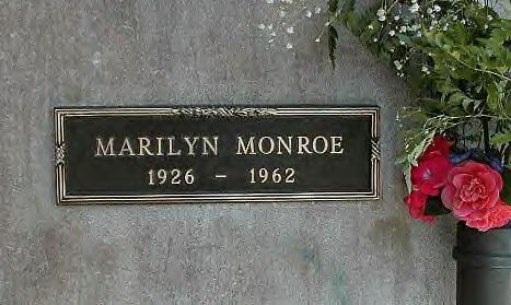 "Marilyn Monroe - American actress and model. Famous for playing ""dumb blonde"" characters, she became one of the most popular sex symbols of the 1950's, emblematic of the era's attitudes towards sexuality. Although she was a top-billed actress for only a decade, her films grossed $200 million by the time of her unexpected death in 1962."