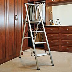Extendable Ladder - Wooden Step Stool - Safety Ladder - Frontgate