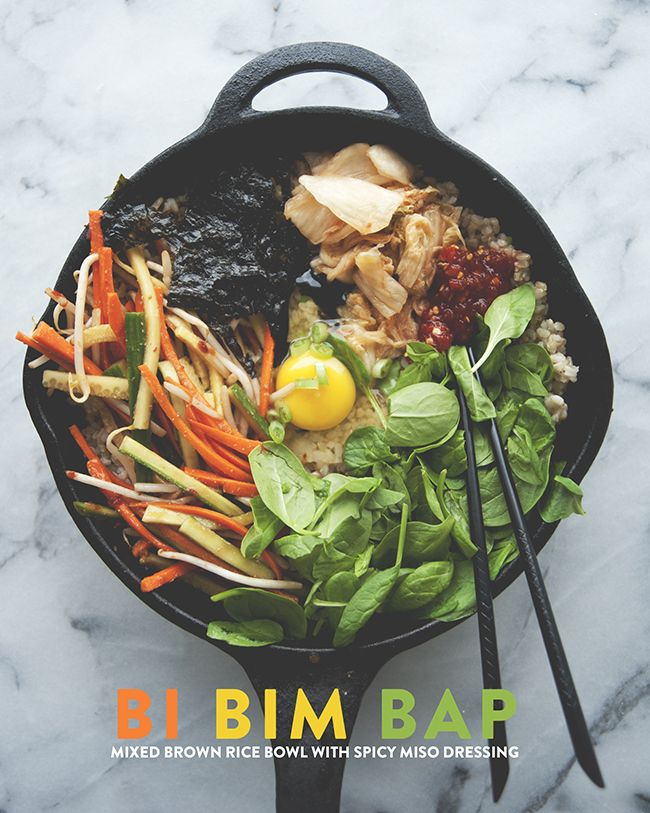 bibimbap for dinner, anyone?