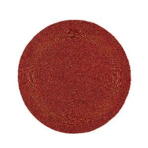 Perles sets Accueil décorations Parti rouge à la main par un Artisan: Amazon.fr: Cuisine & Maison