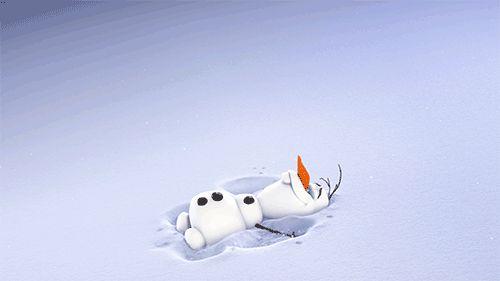 #frozen #olaf #snow