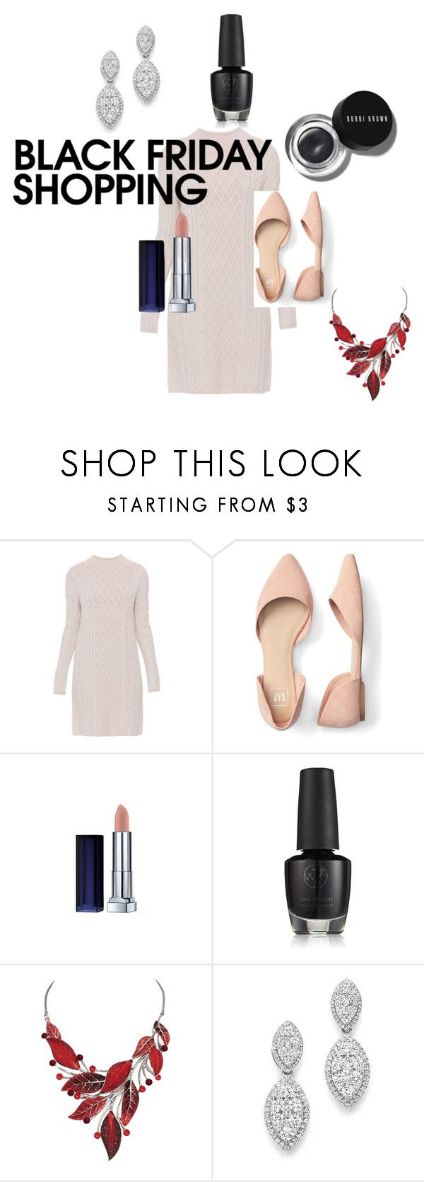 """""""Balck Friday Shopping"""" by katiephan on Polyvore featuring 'S MaxMara, Maybelline, Bobbi Brown Cosmetics, Bloomingdale's and blackfriday"""