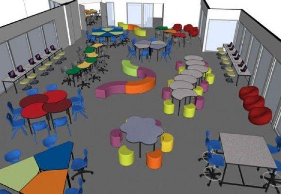 Modern Classroom Environment : Home innovative learning environments school