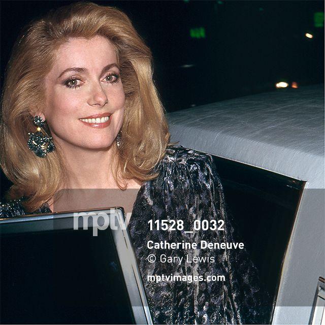 Catherine Deneuve, 1988. © Gary Lewis / mptvimages
