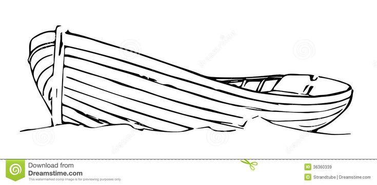 Wooden Boat Tattoo