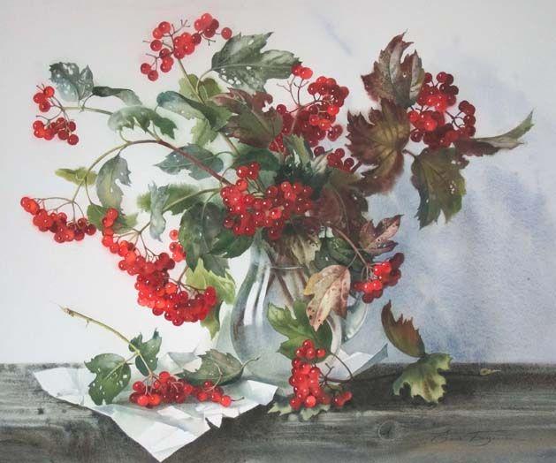 Guelder-rose by Elena Bazanova