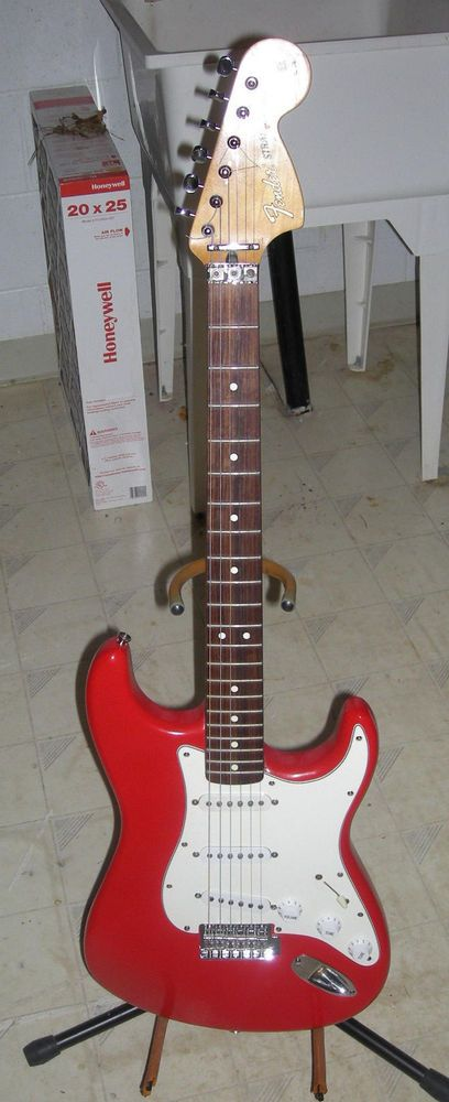 Fender MIM Mexican Stratocaster Partscaster Project