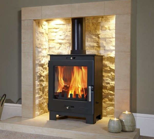 4.9KW Flavel Arundel Multifuel Stove | Buy Modern Multi Fuel Stoves Online | UK Stoves