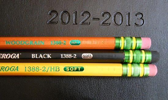 Dixon Ticonderoga No 2 Pencils In Wood Grain Black And