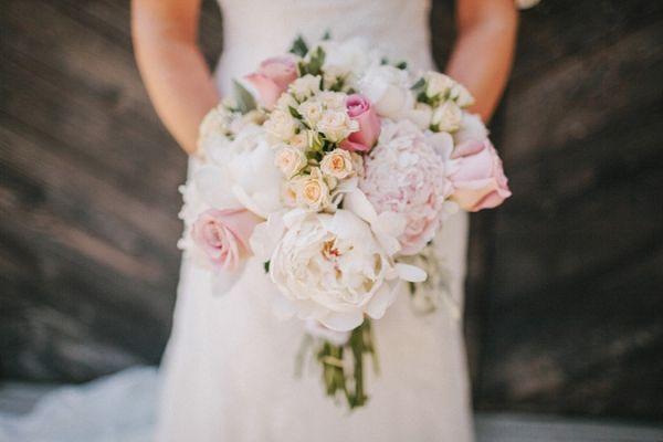 gorgeous, feminine pink bouquet // photo by BenjHaisch.com