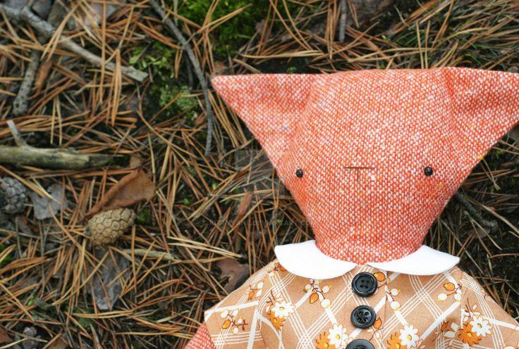 Foxy forest floor by kittyvane.deviantart.com on @DeviantArt