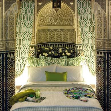1000 ideas sobre decoraci n rabe en pinterest l mpara - Casas estilo arabe ...