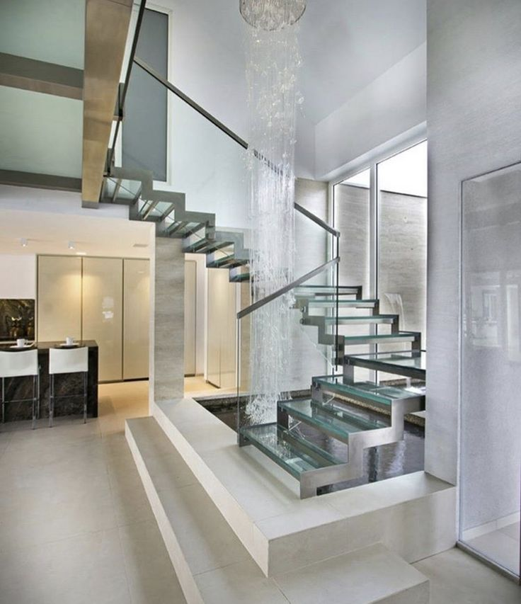 7 Ultra Modern Staircases: 39 Best Indoor Pond Images On Pinterest