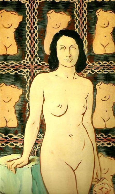 René Magritte, Lola de Valence, 1948