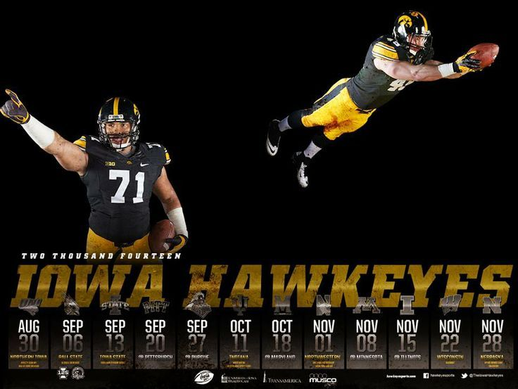 2014 Football Schedule #Hawkeyes: Iowa Hawkeye, Schedule Hawkeye