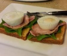 Steamed bacon and poached eggs | Official Thermomix Recipe Community