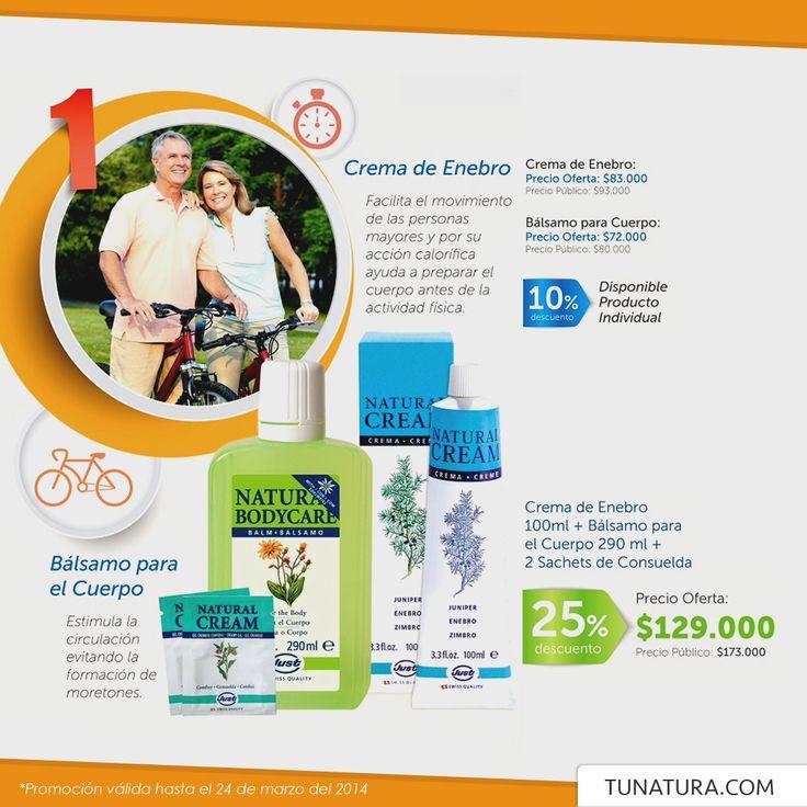 Nueva #oferta de tunatura.com para tu #salud y bienestar. #just #enebro #moretones #hematoma #golpes