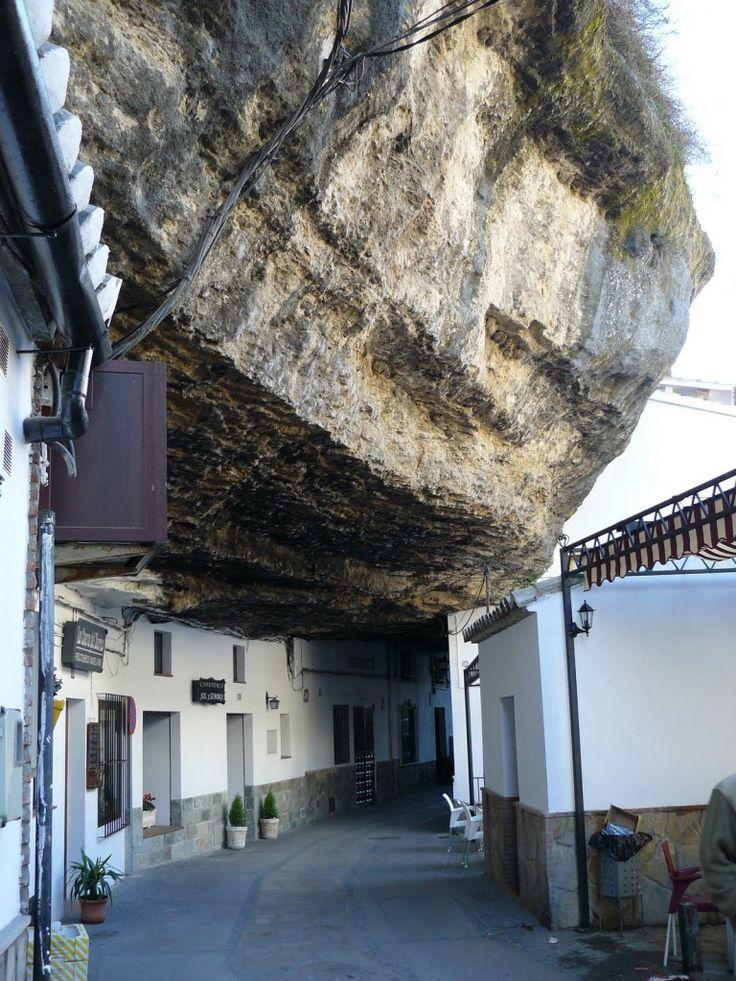"""""""La vie sous un rocher"""" - Setenil de las Bodegas, Cadix"""
