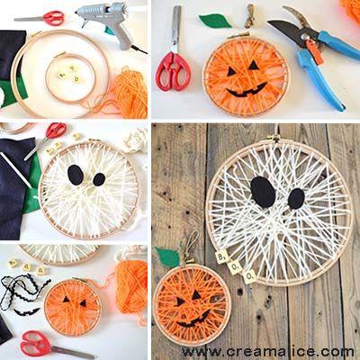 diy-deco-murale-Halloween-tissage-laine