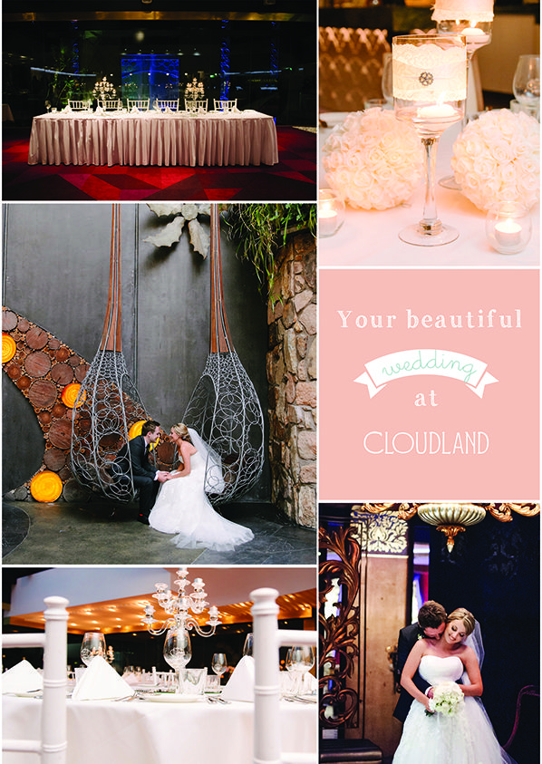 Cloudland | Brisbane Wedding Venue | Copyright: SilverEdge Photography