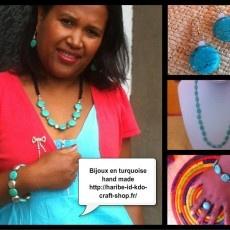 Vente en ligne de l'artisanat du monde, en priorité artisanat de MADAGASCAR Vente en ligne des mes créations (bijoux en pierre semi précieuse, chapeaux, habillement....)