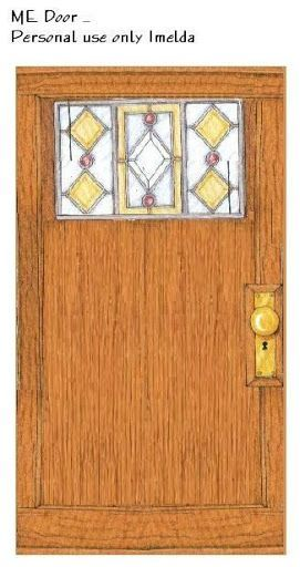 ME-deco wood door  sc 1 st  Pinterest & The 23 best Dollhouse Doors/Windows images on Pinterest | Doll ...