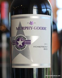 Murphy-Goode Homefront Red 2011 - Easily The Most Enjoyable Way Ever Created To Support The Troops