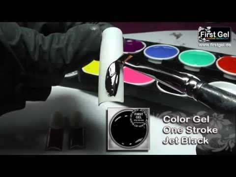 Кракелюр и золотое литье, гелевые краски First Gel, мастер класс от Анны Милай - YouTube