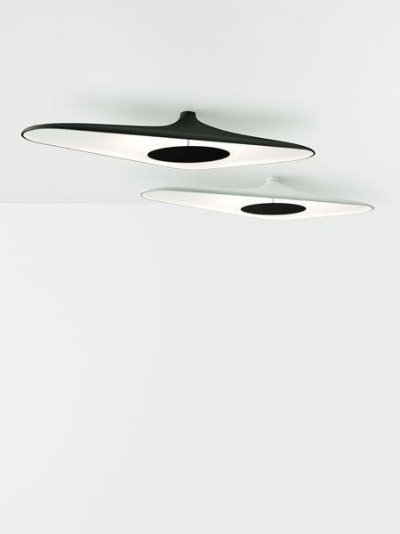 Luceplan plafondlamp D89p Soleil Noir door Odile Decq   Designlinq