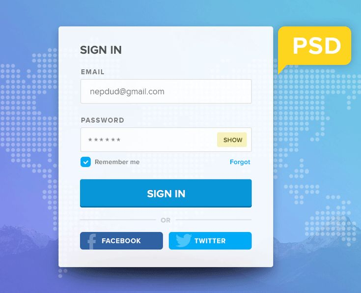 This is a simple free PSD login form designed by Nepalesse designer Subash Dharel. The form is in PSD file format and is fully layered and fully editable so you can adjust it to your needs. You can use this PSD freely in your personal and commercial projects.