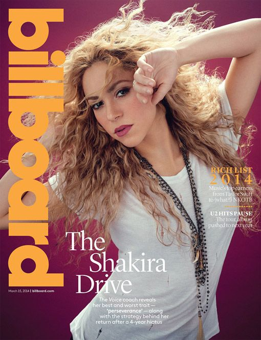 Shakira Returns With New Album, Steamy Rihanna Video, Country Duet: Cover Story | Billboard