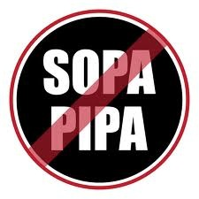 Protest against SOPA