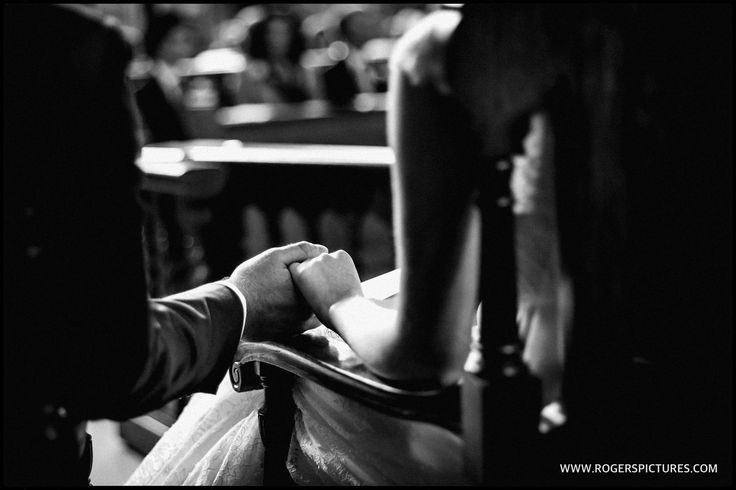 A lovely tender moment captured by Joan at Lauren and Alex's wedding at Temple Church, more here -