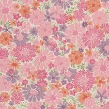Vintage Pink Wallpaper-70's