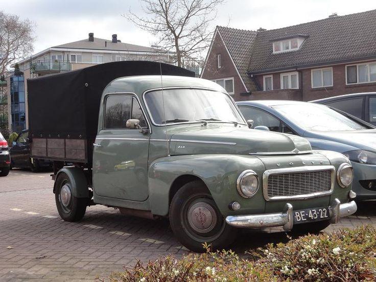 Volvo Duett P210A Pickup 30-6-1961 BE-43-22