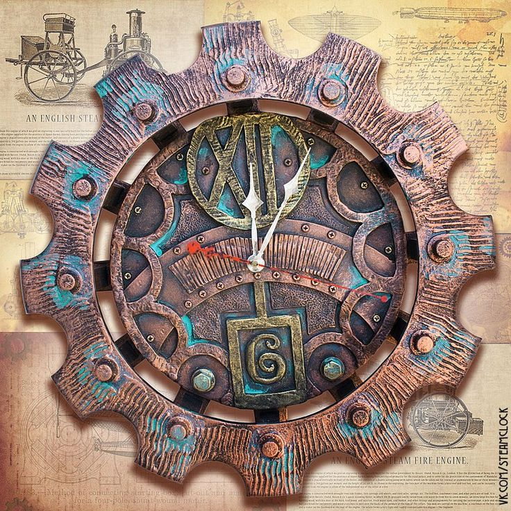 Фотографии Steam clock Samara (стимпанк) | 7 альбомов часы