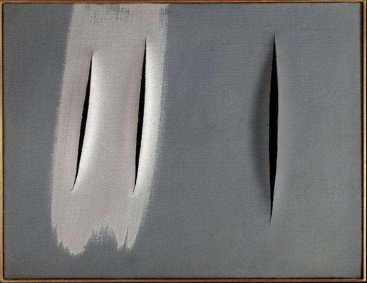 Lucio Fontana (Argentina 1899 - Italy 1968) ,Concetto Spaziale